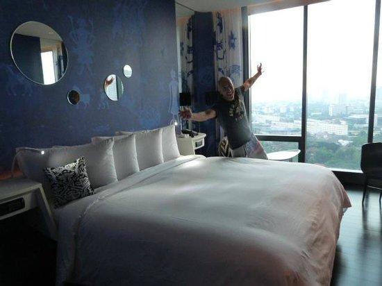 SO Sofitel Bangkok: parte de la habitacion