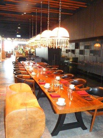 SO Sofitel Bangkok: uno de los comedores
