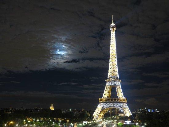 Citadines Republique Paris: Paris at night