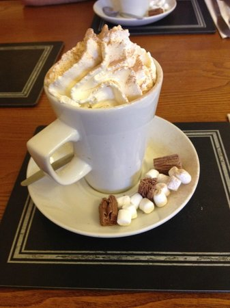 Bryson's Tea Room & Craft Bakery: Excellent Hot Chocolate