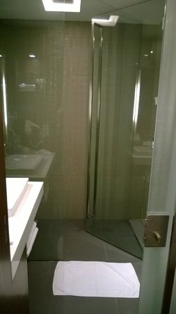 Galleria 10 Hotel Bangkok by Compass Hospitality : Shower door