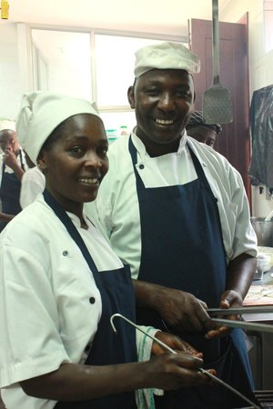The Talisman : Smiles in the kitchen