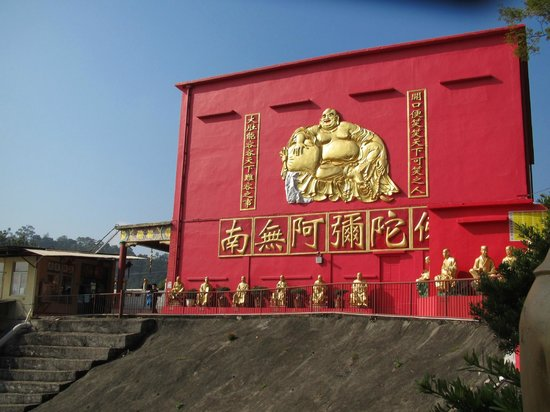Ten Thousand Buddhas Monastery (Man Fat Sze) : Front View at the entrance