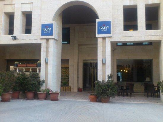 RUM Hotels - Al Waleed: Внутренний дворик