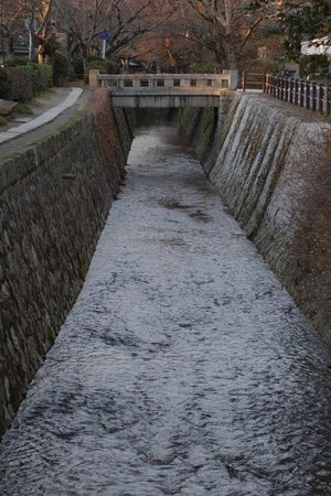 Philosopher's Walk: Canal along the Tetsugaku-no-michi