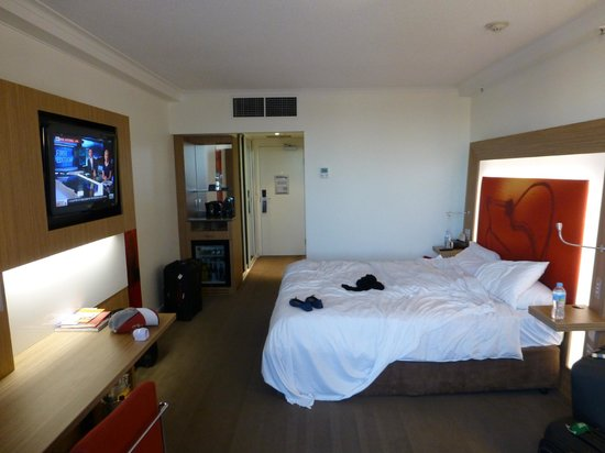 Novotel Brisbane: Our room