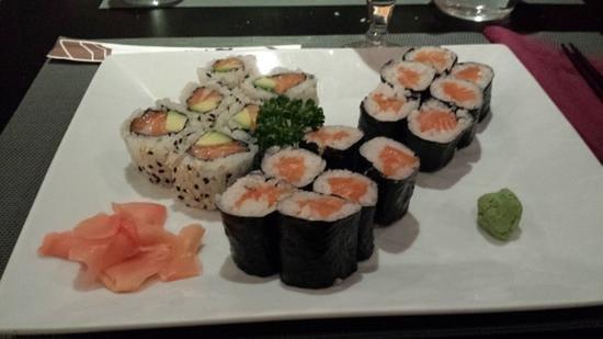 Daisuki : menu k1 tout saumon