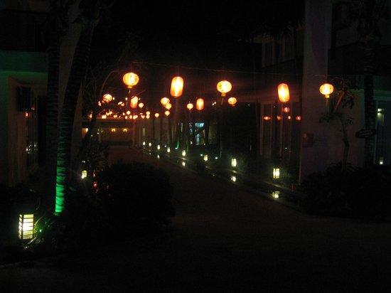 Villa Del Sol Beach Villas & Spa: New Year decorations