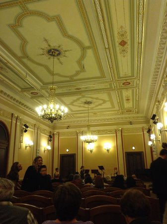 Rudolfinum: The concert room