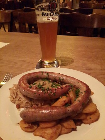 Haxenhaus zum Rheingarten: ужин по-бюргерски