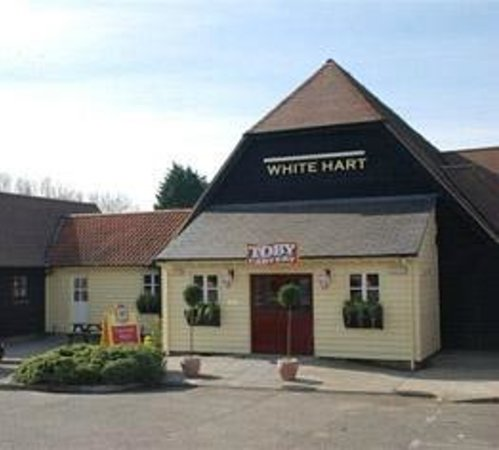 The White Hart in Colchester: This is the White Hart Toby Carvery Stanway