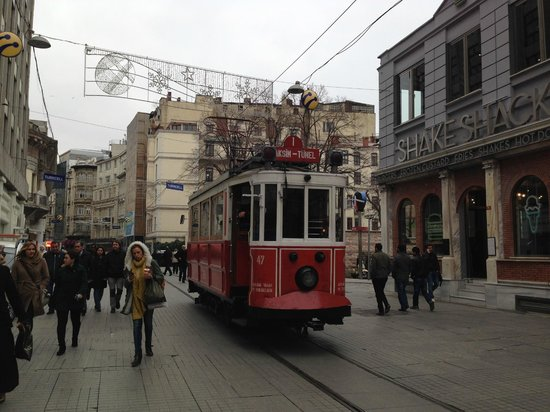 Richmond Hotel Istanbul: via pedonale, Istiklal Cd
