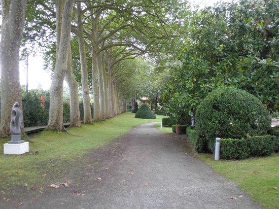 Foto de jard n bot nico atl ntico gij n riachuelo en el for El jardin botanico gijon