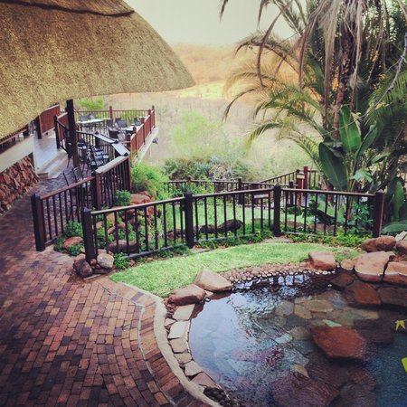 Victoria Falls Safari Lodge: Pool & Rest