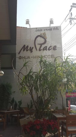 My Place @ Hua-Hin Hotel: Outside