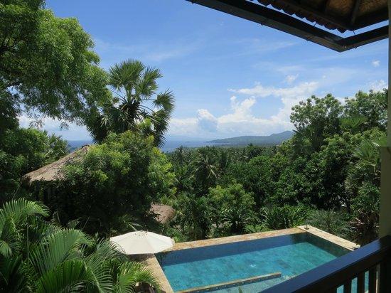 Villa Flow uitzicht vanuit kamer