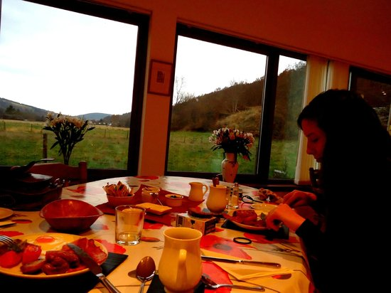 Kilmichael House B&B: best breakfast ever!