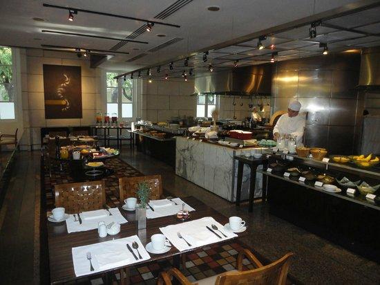 Park Hyatt Mendoza : Restaurante preparado para o café matinal