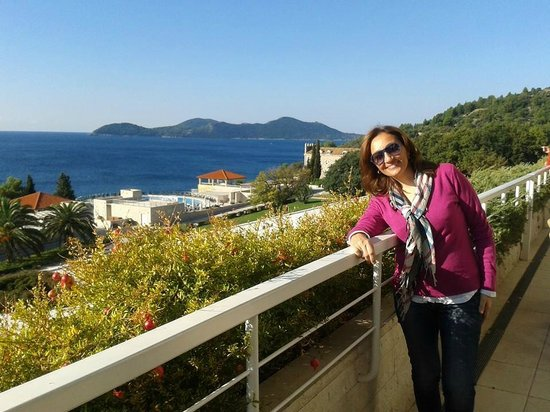 Sun Gardens Dubrovnik: Every morning, breakfast with a view