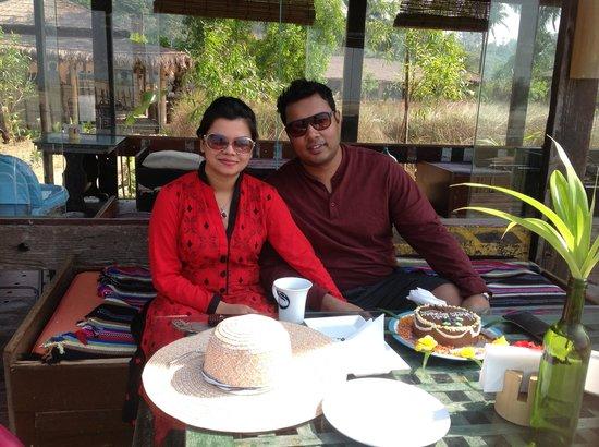 Mermaid Beach Resort Coxs Bazar Me And My Husband With Surprise Birthday Cake