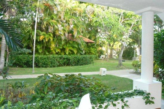 Bavaro Princess All Suites Resort, Spa & Casino : Devant la chambre