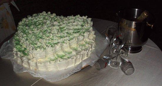 Somma Vesuviana, Italien: la nostra torta fragoline e chantilly...la più buona che abbia mai mangiato! <3