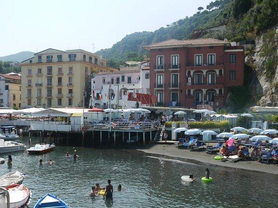 Ristorante Bagni Delfino: Restaurant location