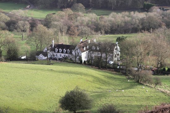 Losehill House Hotel & Spa : Rear View from Losehill
