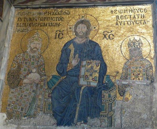 Aya Sofya Mosaics - Picture of Hagia Sophia Museum ...