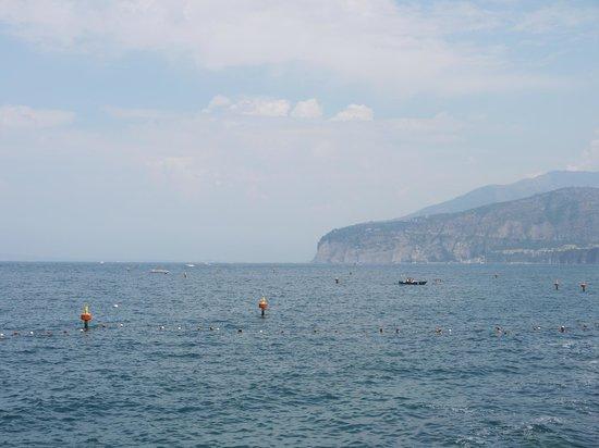 Ristorante Bagni Delfino: View from our table