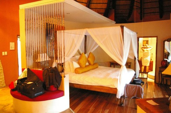 Maliba Mountain Lodge : Bett