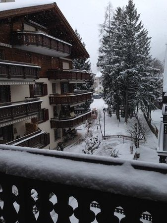 Hotel Alpina: view from the room