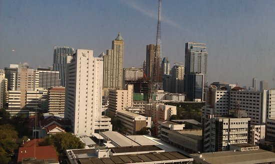 Novotel Bangkok on Siam Square: view from the room