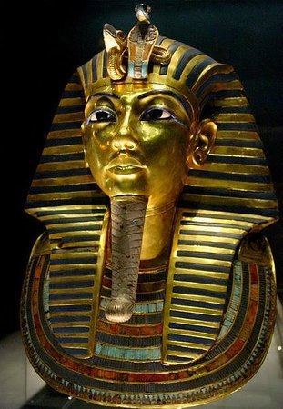 Musée égyptien du Caire : The Gold Mask of Tutankhamun - Egyptian Museum