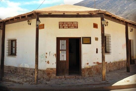 Casa donde velaron al Gral Lavalle