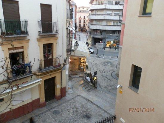 Hotel Monjas del Carmen: Вид из номера