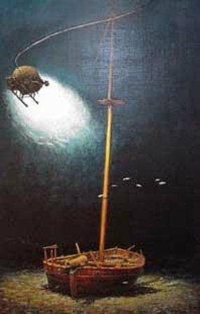 Lake Champlain Maritime Museum: Benedict Arnolds gunboat, Spitfire
