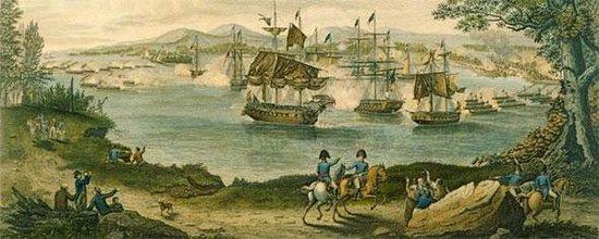 Lake Champlain Maritime Museum: Historic 1813 image