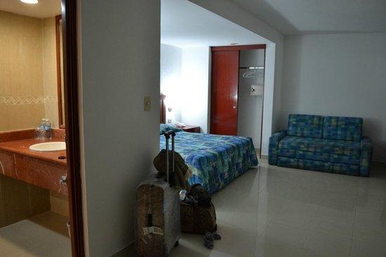 Hotel Dos Playas Beach House: Номер