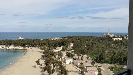 Sheraton Montazah Hotel : view from junior suit balcony 13th floor