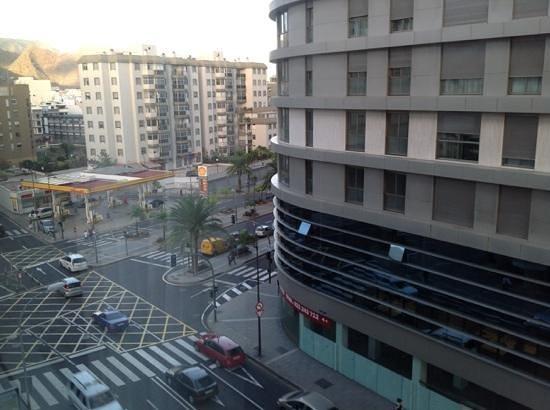 Silken Atlantida Santa Cruz: View from the window