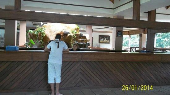 Volcano Lodge & Springs : hotel recepcion