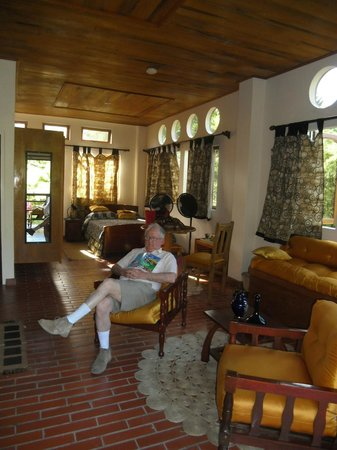 Cuffie River Nature Retreat and Eco-Lodge: room