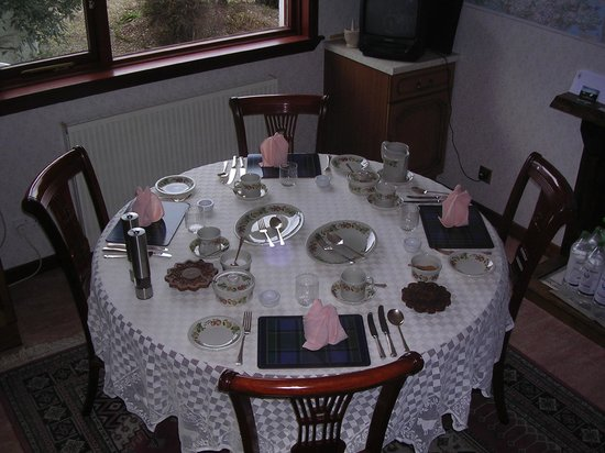 Ridgeway Bed and Breakfast : Dining room