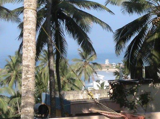 Hotel Grandsea: vue du balcon