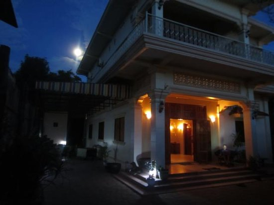 Bayon Garden Guesthouse: Guesthouse Eingangsbereich