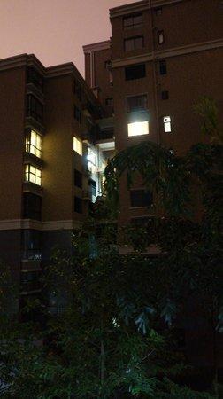 Qiongjia Family Apartment: evening view