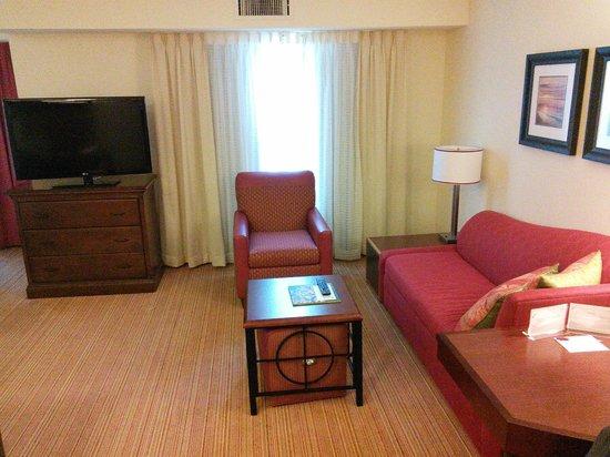 Residence Inn Jacksonville Butler Boulevard: Living Room