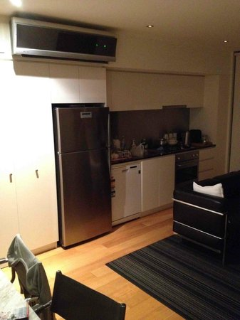 About Melbourne Apartments: nice kitchen