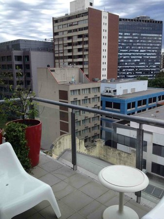 About Melbourne Apartments: balcony